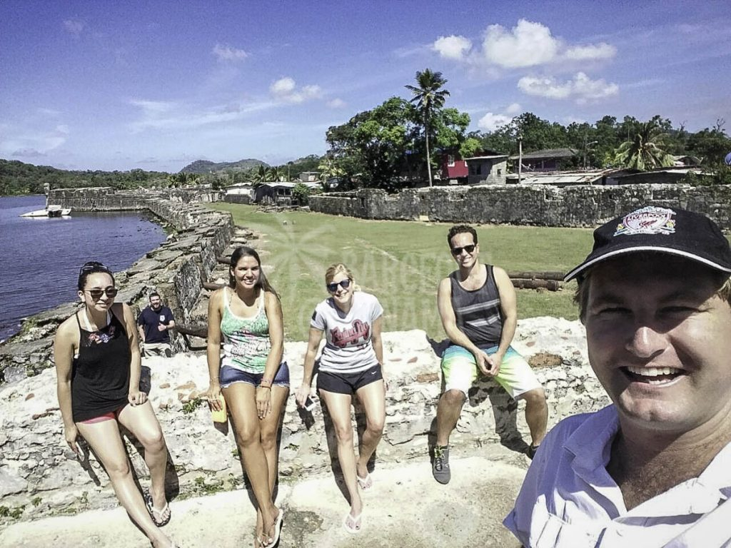 fort-San-Lorenzo-Ross-and-visitors