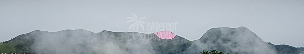 pink-sheeting-on-mountain