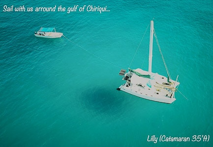 sailing in the gulf of chiriqui