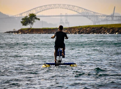 hydro bikes and SUP rental in Panama